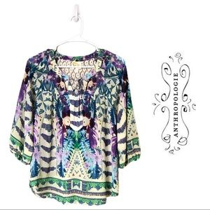 Anthropologie Blouse-